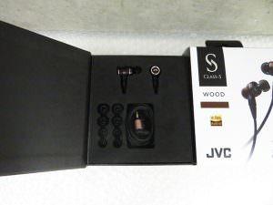 JVCKENWOOD HA-FW02 インナーイヤーヘッドホン