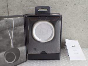 iui audio イウイ BeYo ビーヨ TR-4265 WHSV ウーファー搭載ポータブルスピーカー ホワイト×シルバー