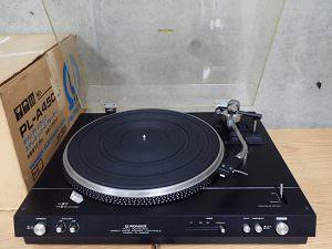 Pioneer パイオニア PL-A450B ダイレクトドライブ方式 フルオートレコードプレイヤー