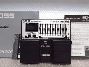 BOSS EQ-20 GRAPHIC EQUALIZER ADVANCED EQ グラフィック イコライザー エフェクター 音響機器 管理2T1124H